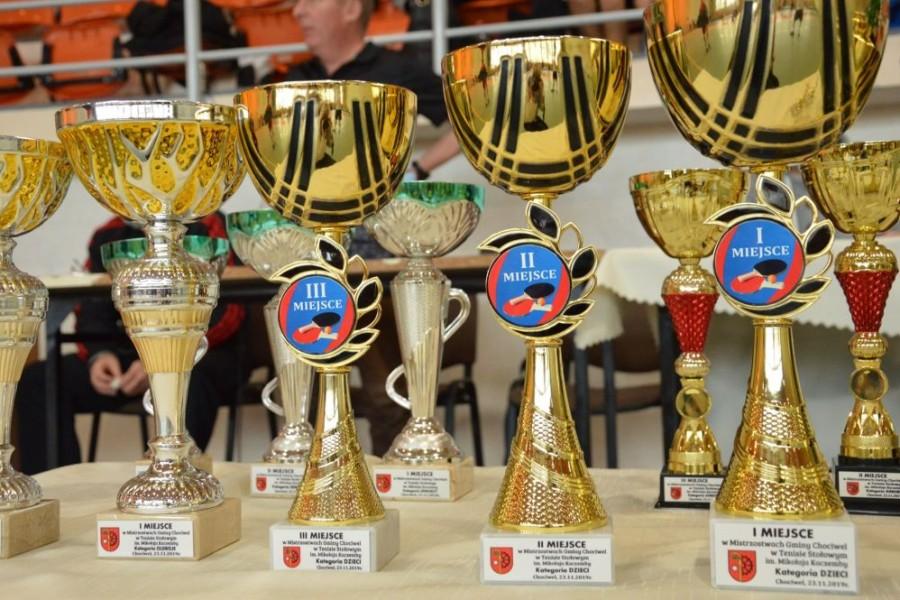 Mistrzostwa Gminy Chociwel w Tenisie Stołowym Imienia M. Kaczemby