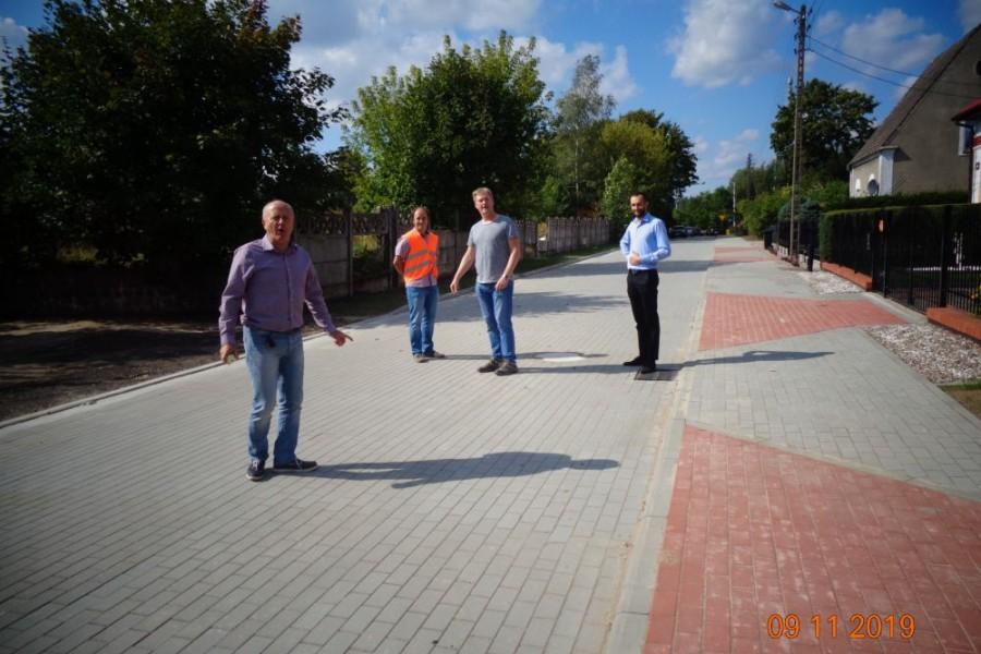 Zakończenie przebudowy ulicy Grunwaldzkiej w Chociwlu